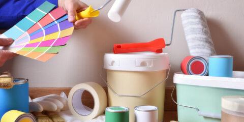 wat heb je nodig om te schilderen